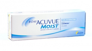 1 - Day Acuvue Moist for Astigmatism